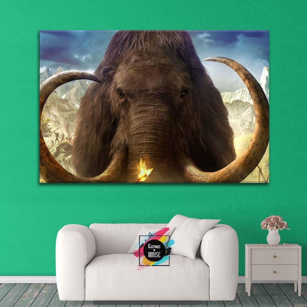 Far Cry 5 The Mammoth Gaming 1 Panel Canvas Wall Art Canvas Az